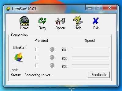 Giao diện phần mềm ultrasuft